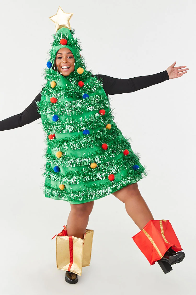 Plus Size Christmas Tree Dress Forever 21 Christmas Tree Dress Tree Dress Sequin Tube Dress