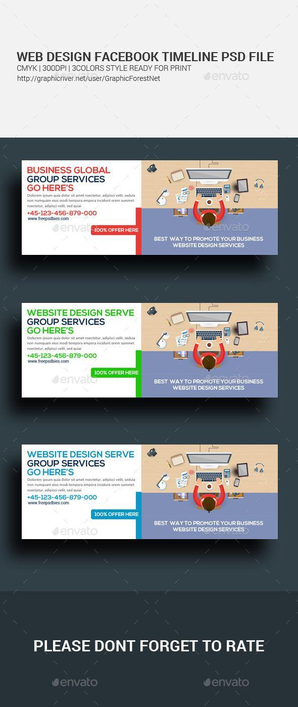 Web Design Facebook Cover Timeline  Timeline Facebook Timeline