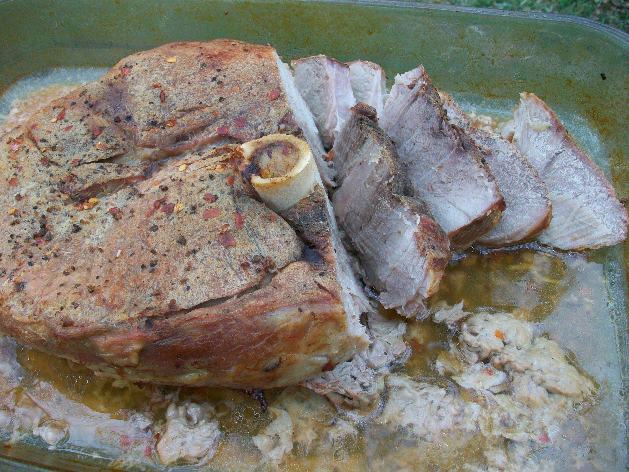 Pork Roast After Cooking