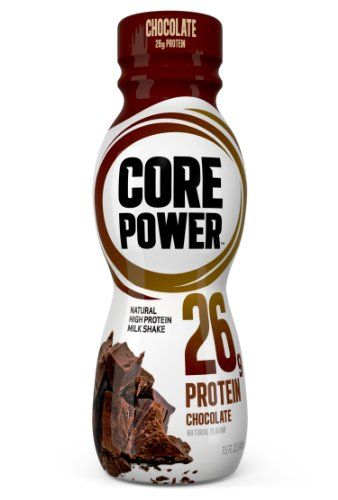 Core Power Natural High Protein Milk Shake Chocolate 11 5 Ounce Bottles Pack Of 12 Protein Drinks Protein Power Protein Milkshake
