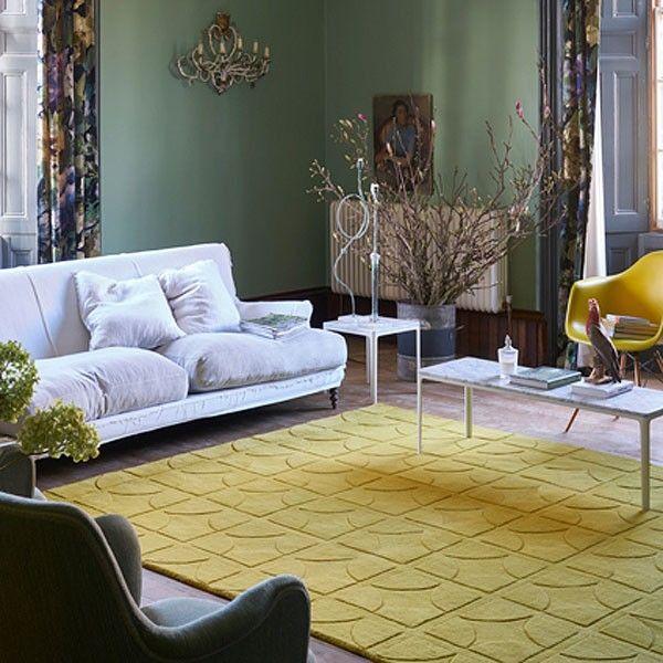 universal rug yellow modern rugs modern and interiors