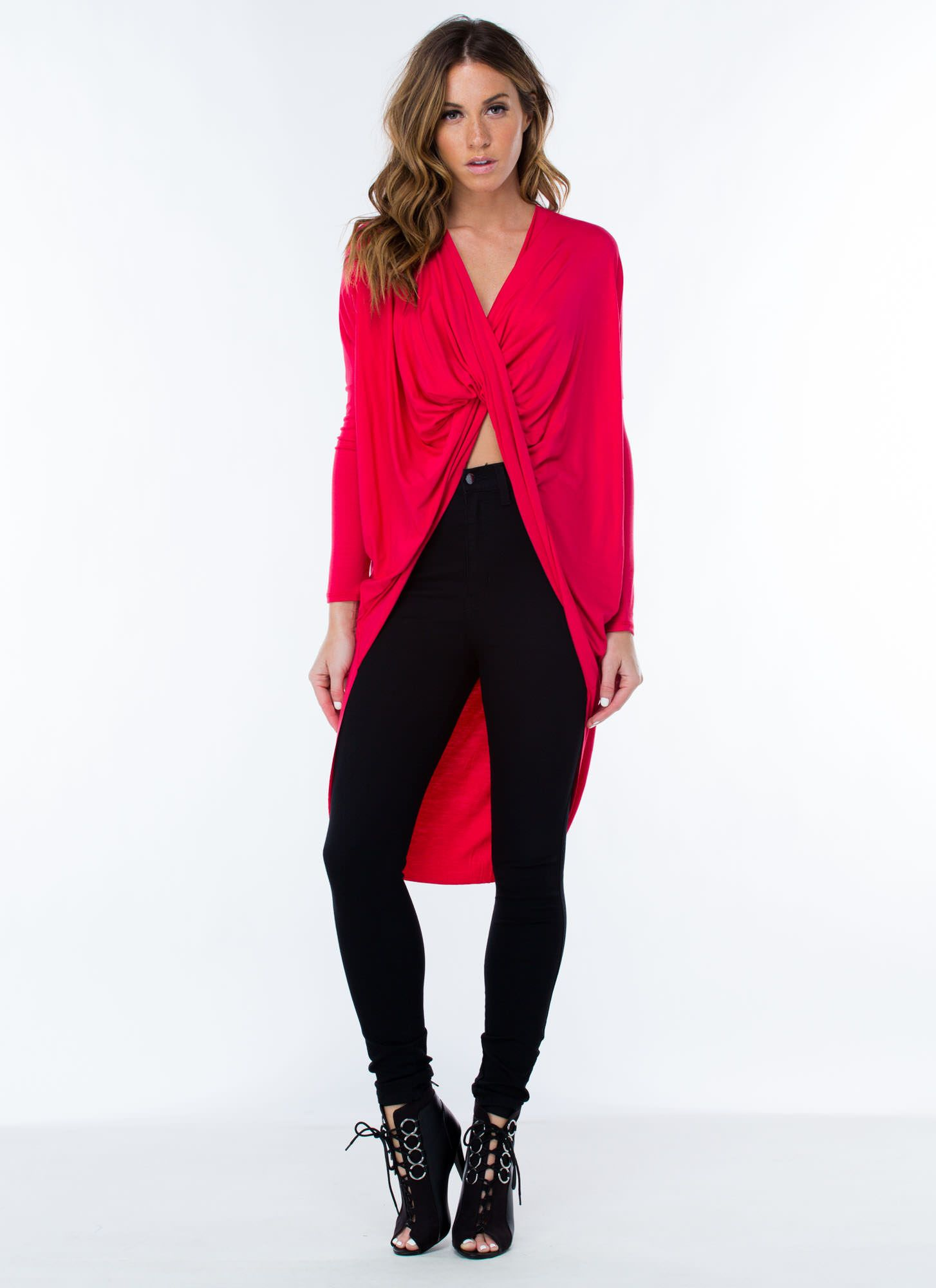 Get twisted highlow top gojane style pinterest high low