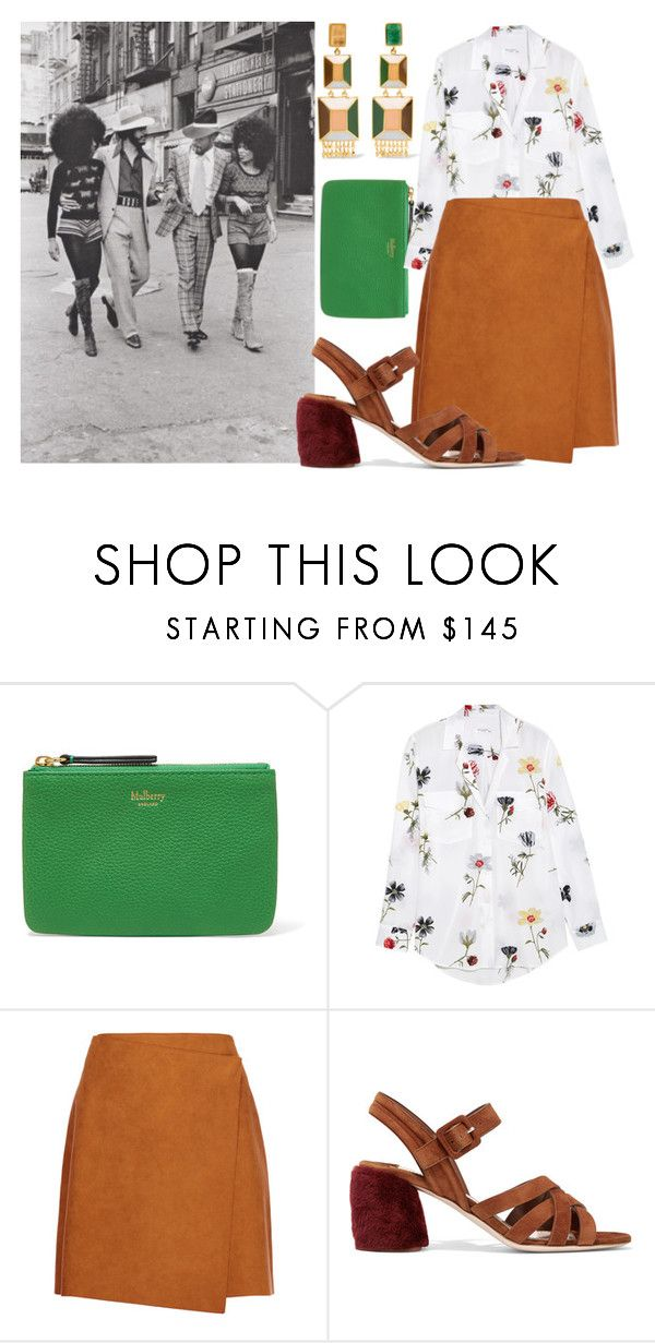 """""""Untitled #656"""" by alexd ❤ liked on Polyvore featuring Equipment, MSGM, Miu Miu and Paula Mendoza"""
