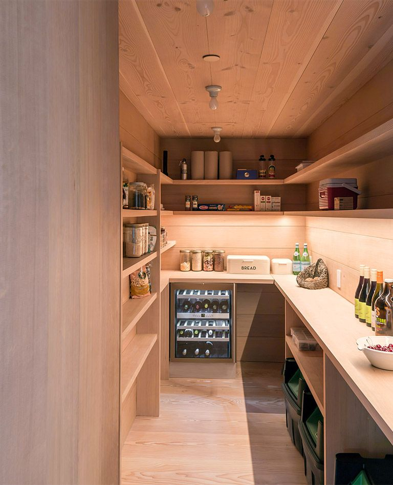 Jackson Hole II, Wyoming Larder - McLean Quinlan Architects | Cocina ...