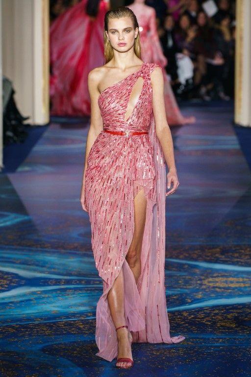 Zuhair Murad Spring Summer 2019 Haute Couture Collection – Paris