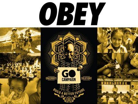 Obey Awareness soutient The Go Campaign: une oeuvre de charité pour les enfants vulnérables. https://vimeo.com/42227633