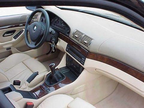 Bmw E39 525i Saloon Sedan Interior Design