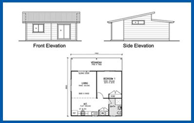 Meadow Lea 1 Bedroom Granny Flat Kit Home New Granny Flats Online Granny Flat House Plans Kit Home