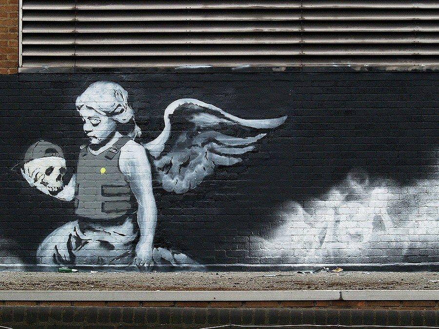 Photos: Banksy's Street Art Around the World