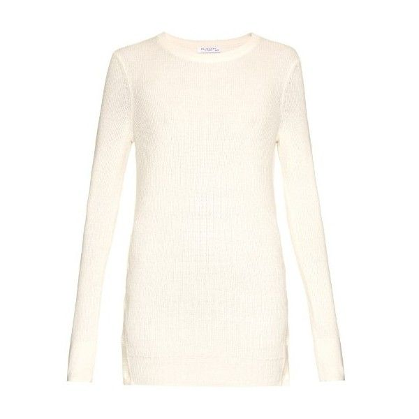Equipment Rei crew-neck cotton and cashmere-blend sweater (€270 ...