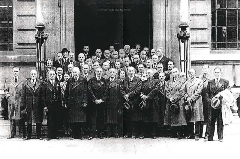 Founders of iso london 1946 international organization