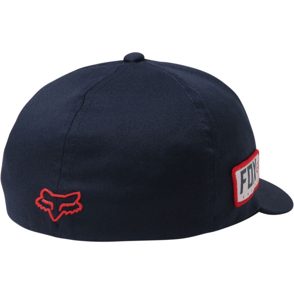 reputable site b5355 91db0 Fox Honda Flexfit Cap - Midnight SM