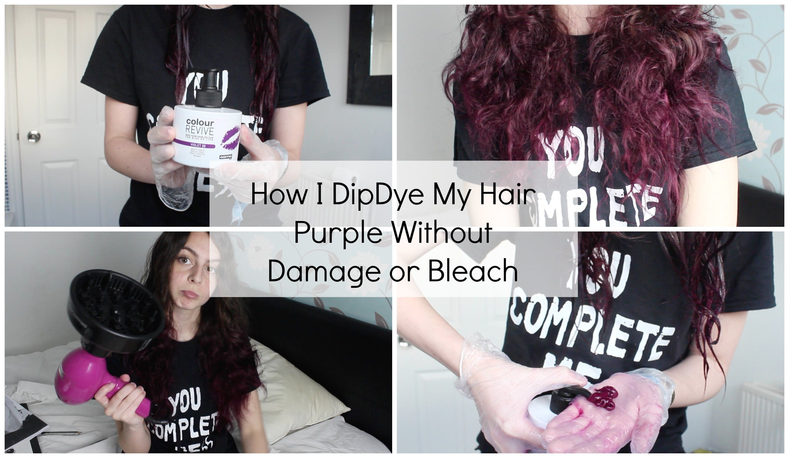 Dying Your Hair With Bleach