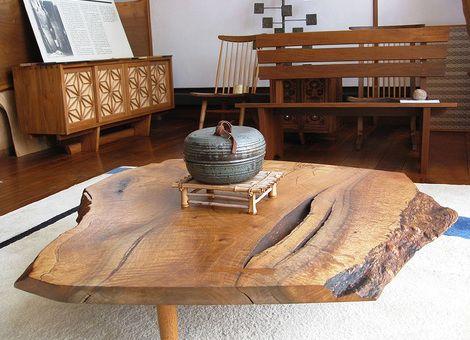 George Nakashima L\u0027histoire d\u0027un maître Décoration maison