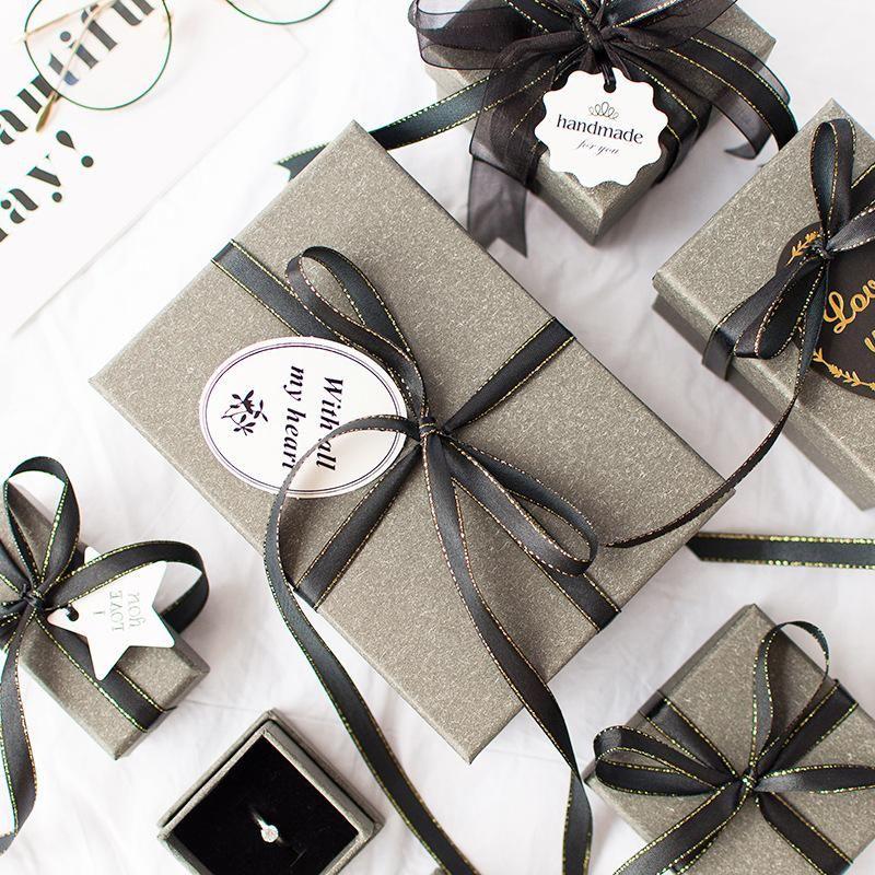 علب و أكياس هدايا بأحجام مختلفة Cheap Gift Bags Paper Gift Bags Wedding Jewellery Boxes