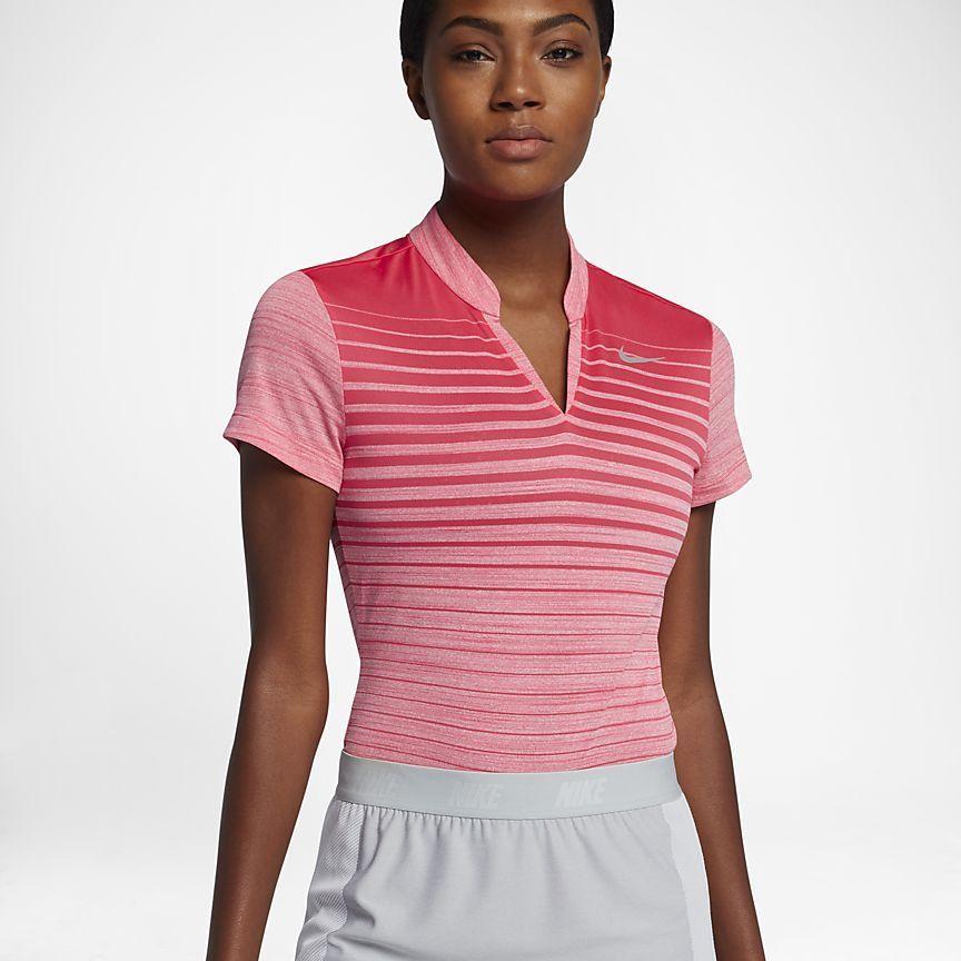 Nike Zonal Cooling Women's Golf Polo #GolfPolo | Golf Polo