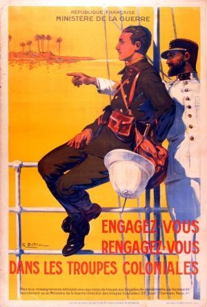 French Colonial Troops ~ Georges Dutriac