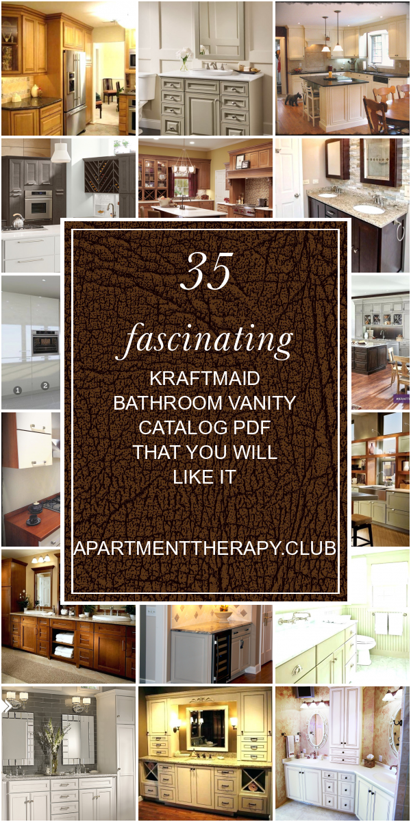 35 Fascinating Kraftmaid Bathroom Vanity Catalog Pdf That You Will