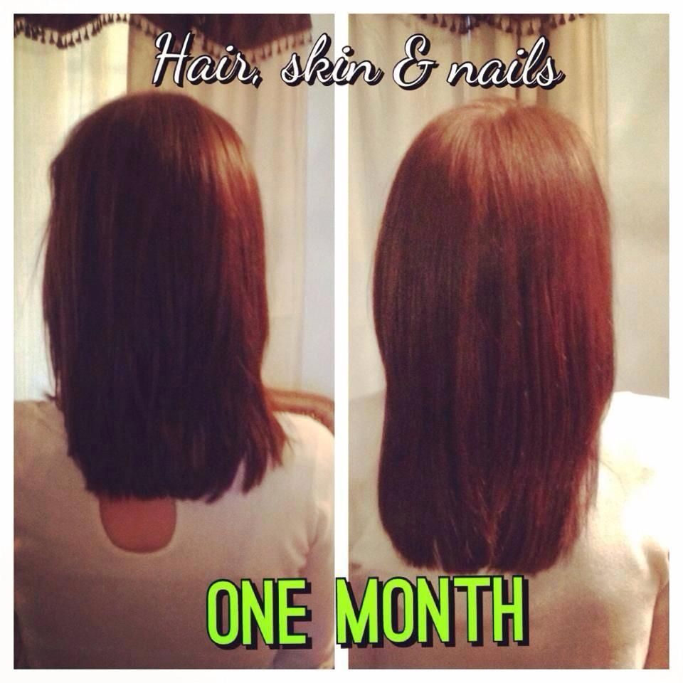 It Works Hair Skin Nails Awesome results after 1 month