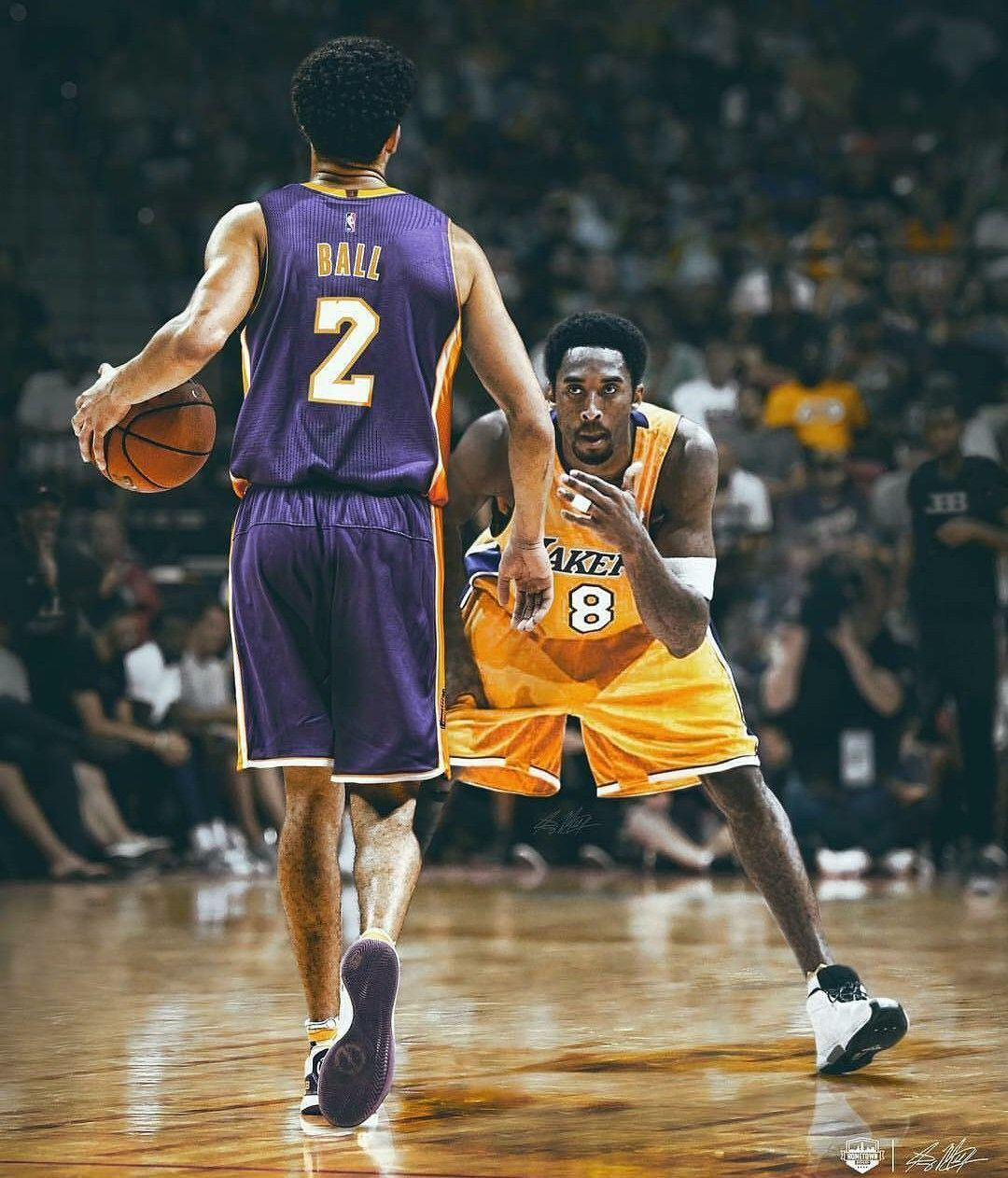 best service 06194 01dc6 Lonzo Ball and Kobe Bryant edit | BASKETBALL | Nba sports ...