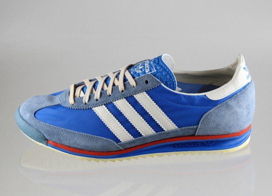 Adidas Sl 72 Vintage Bleu 6