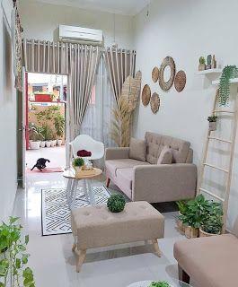 desain ruang tamu minimalis yang modern, lebih terlihat