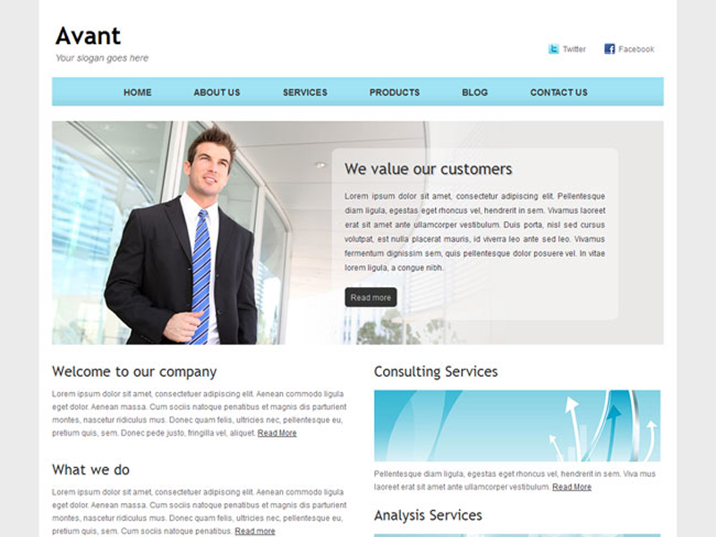 Avant is a fresh clean neat and professional free bootstrap avant is a fresh clean neat and professional free bootstrap corporate site template for fbccfo Choice Image