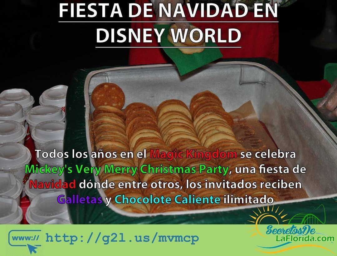 En el Mickey's Very Merry Christmas Party que se realiza en el Magic Kingdom de Walt Disney World  podrás disfrutar de atracciones abiertas hasta tarde con menos filas que lo usual galletas chocolate caliente y jugo de manzana ilimitado ==> http://g2l.us/mvmcp