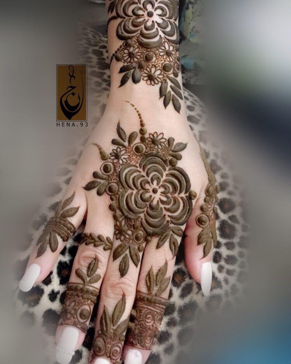 Dubai Arabic Mehndi Henna Design: سُــعاد (@hena.93) On Instagram