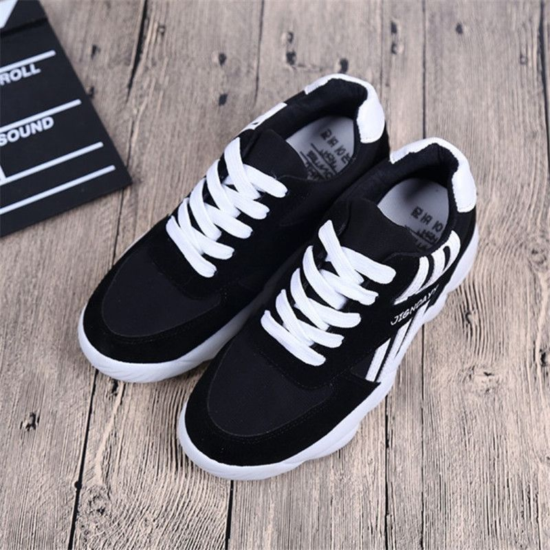 Canvas Cross Carrefour Sneaker Wedges Women Spring Straps Sneakers LqMpGUSzV