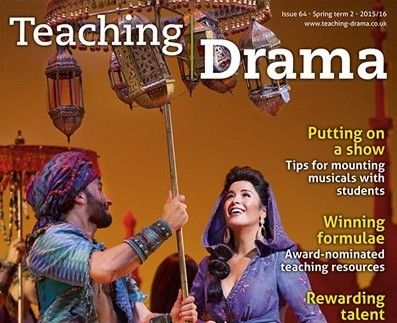 Twitter informed me last night that the excellent UK drama education magazine, Teaching Drama, gave The Drama Teacher / Theatre Links a 5-star review in their latest edition of the magazine. Why, thank you! Here are a few snippets from the review: This is an invaluable resource for students. It can be used as the...Continue