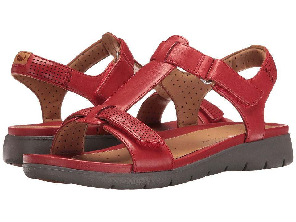 7e11dbb9351 CLARKS CLARKS - UN HAYWOOD (RED LEATHER) WOMEN S SANDALS.  clarks  shoes