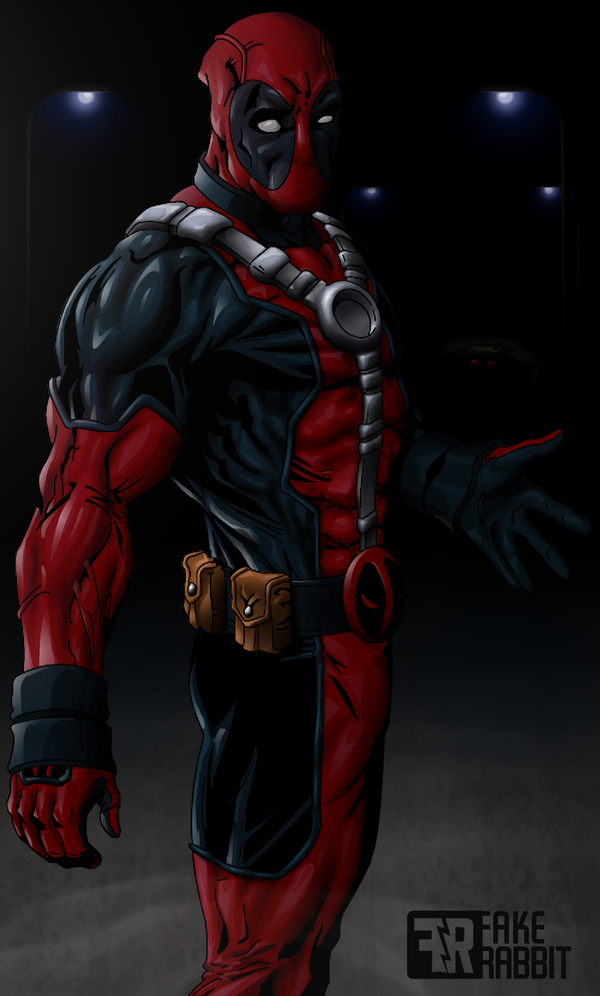 Deadpool Colouring By Fakerabbit On Deviantart Deadpool Pictures Marvel Deadpool Superhero Villains