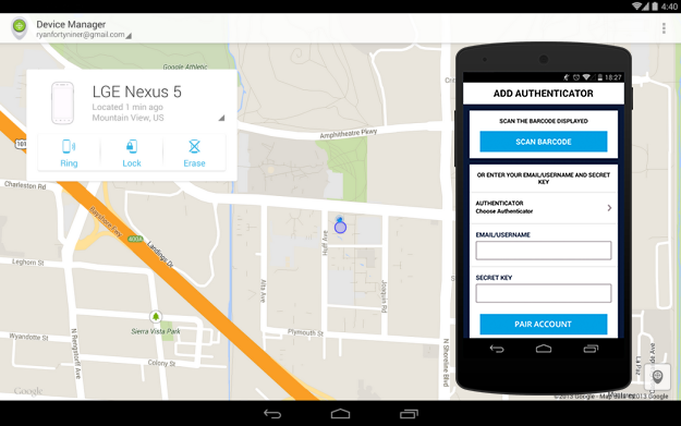 How to locate a lost or stolen phone and remotely lock or
