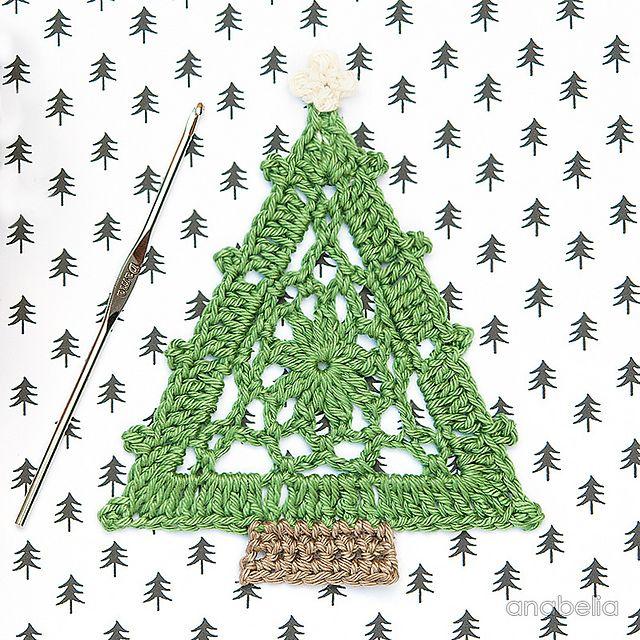Free Ravelry Christmas Tree Pattern By Anabelia Handmade Noel