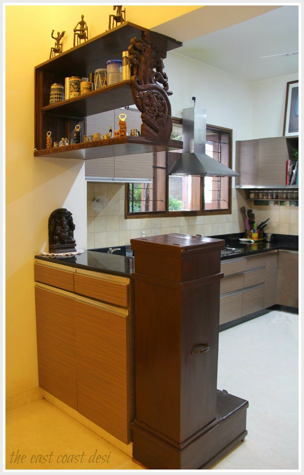 Kitchen shelving units   year old grain storage unit together with a shelf scored at an