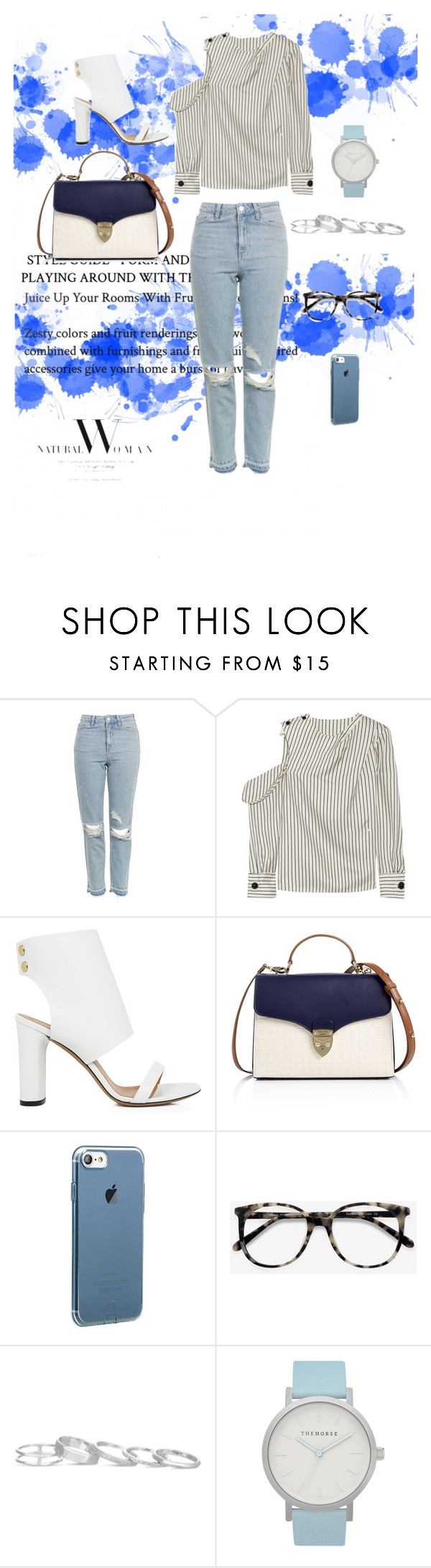 """""""Untitled #403"""" by itsafagh ❤ liked on Polyvore featuring Topshop, Monse, IRO, Aspinal of London, Ace, Kendra Scott and The Horse"""