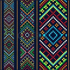 Motivos Etnicos En Punto De Cruz Buscar Con Google Loom Bracelet Patterns Loom Beading Cross Stitch Art