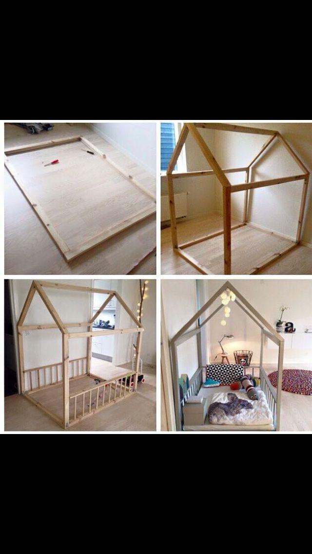 Krea Ideer Toddler Rooms Toddler Floor Bed Baby Room Decor