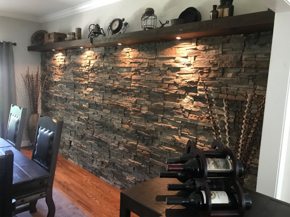 Interior Stone Accent Wall Ideas By Wes Genstone Natural Stone Wall Stone Accent Walls Stone Walls Interior