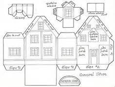 Glitter Houses Plans and Patterns - Putz Houses on Pinterest | Putz ...