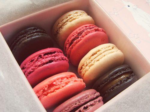 Macarons!!! Mmm...^.^~♥