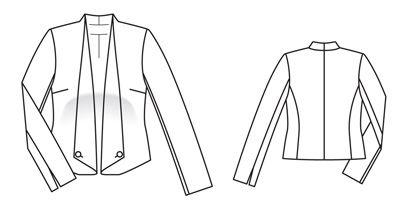Schéma du modèle - burdafashion.com