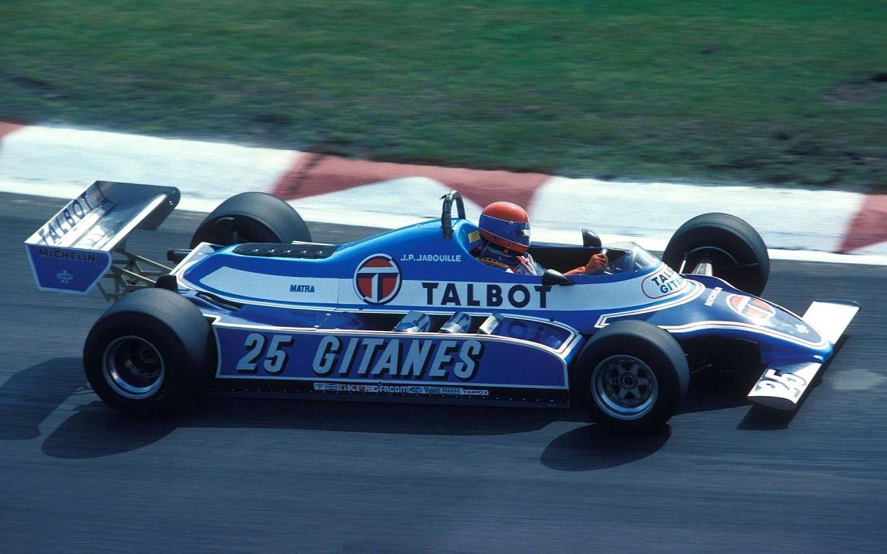 Jean-Pierre Jabouille (Ligier-Matra) Grand Prix de Saint-Marin ...