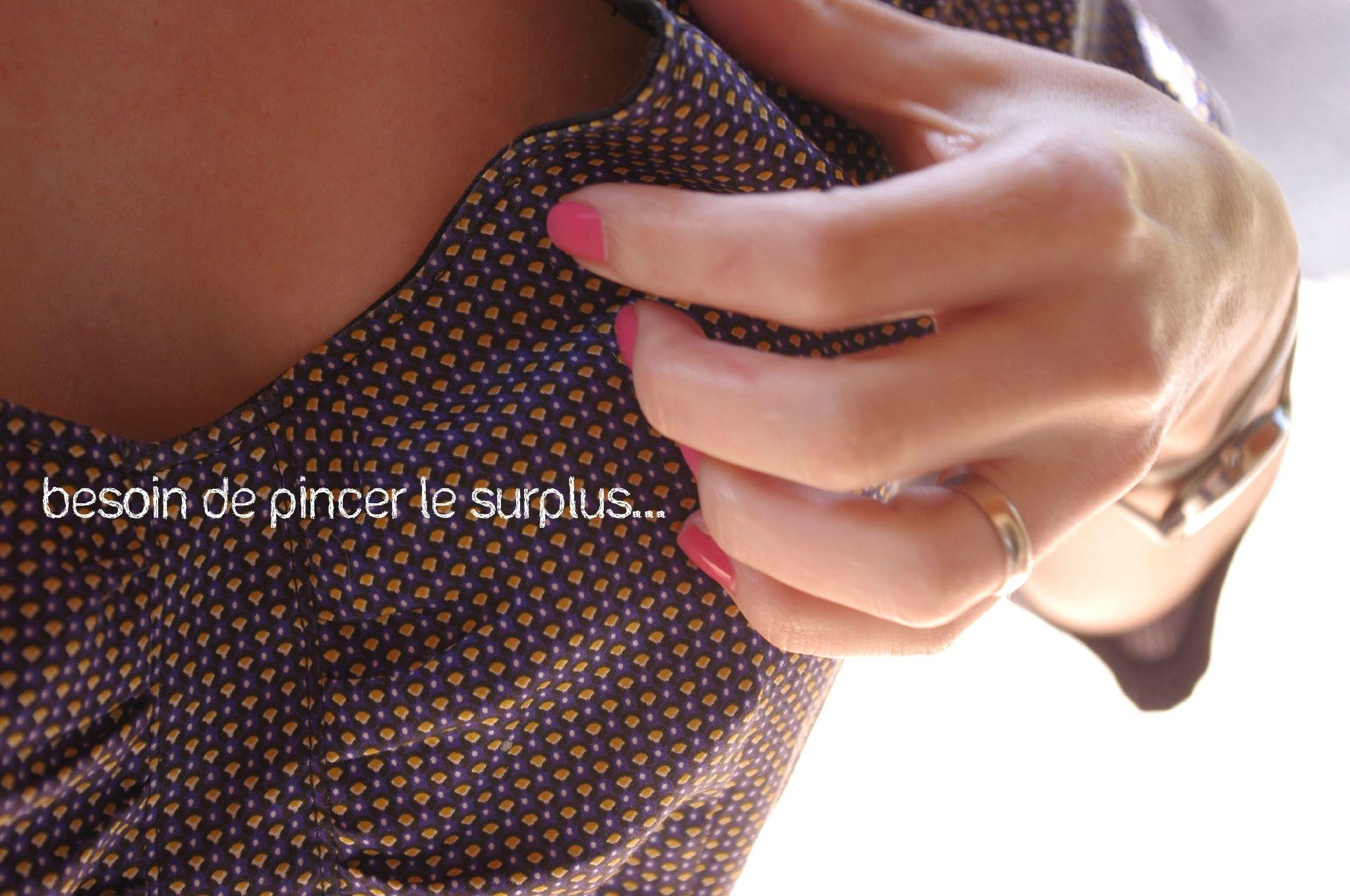 la robe sureau et son encolure couture couture sewing and sew pattern. Black Bedroom Furniture Sets. Home Design Ideas