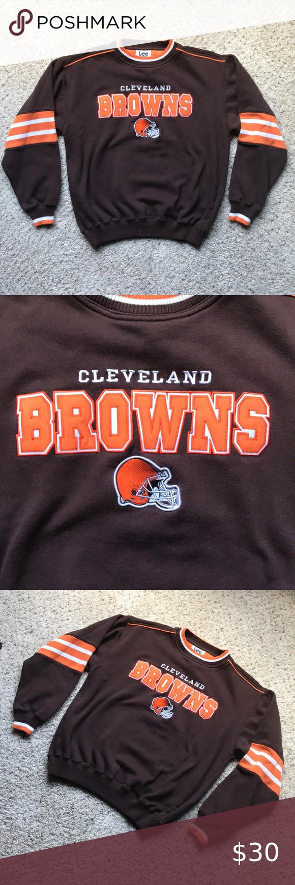 Cleveland Browns Sweatshirt Cleveland Browns Sweatshirt Brown Sweatshirt Sweatshirts [ 1740 x 580 Pixel ]