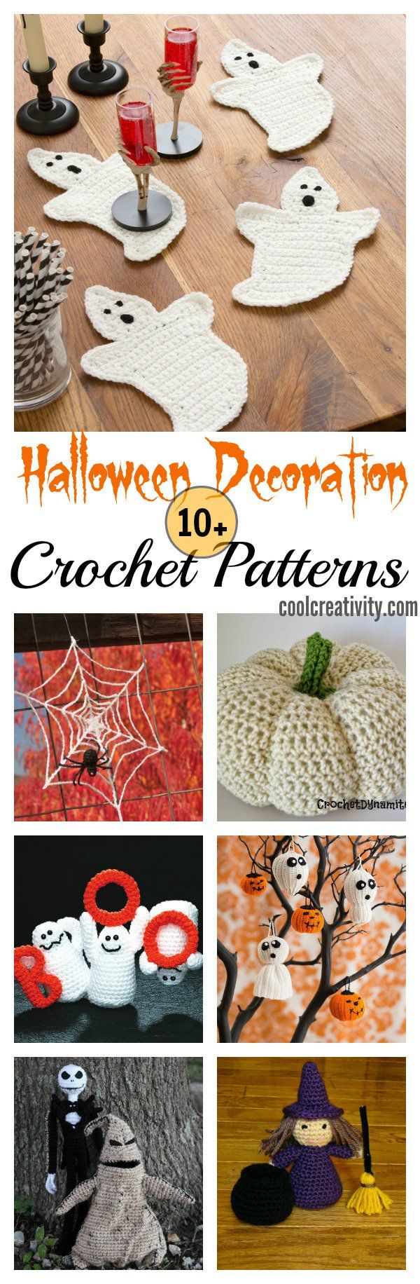 10+ Halloween Decoration Free Crochet Patterns   Crochet, Decoration ...