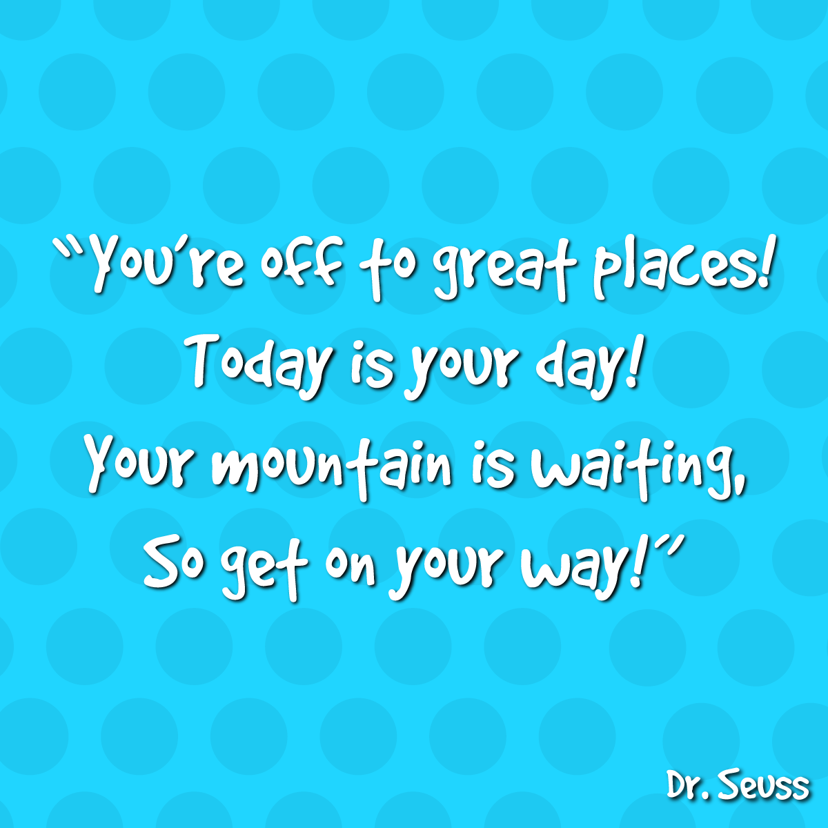 March 2nd is Dr. Seuss Day! Did you know that Dr. Seuss published more than 60 books? Leave a comment and tell us your favorite.