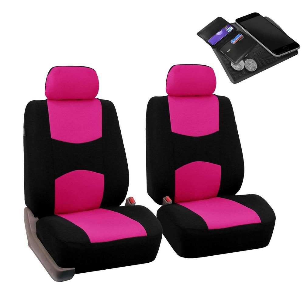 Fh Group Flat Cloth 47 In X 23 In X 1 In Half Set Front Seat