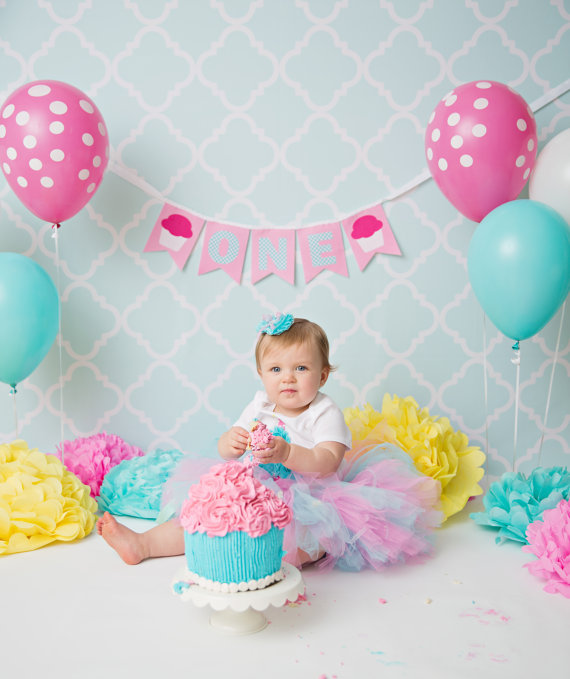 baby 1st birthday 1st BIRTHDAY BANNER / 1st birthday girl / First birthday girl  baby 1st birthday